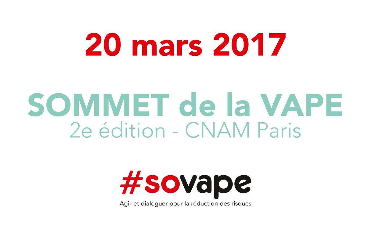 Sovape le prochain sommet de la vape annonc pour mars 2017 for Salon de la vape 2017 paris
